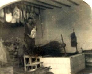 La fábrica en funcionamiento en los años 40